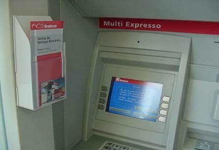 ATM keypad and PIN