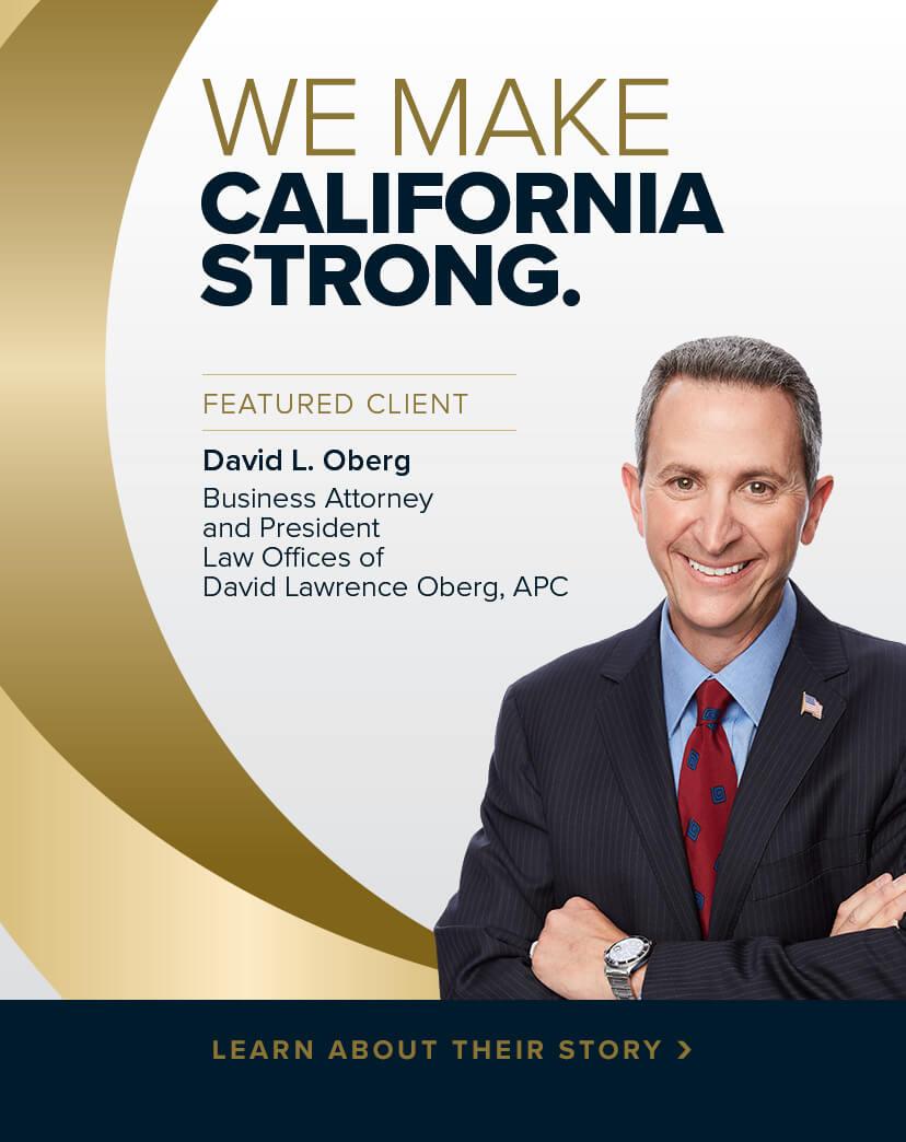 Making California Strong