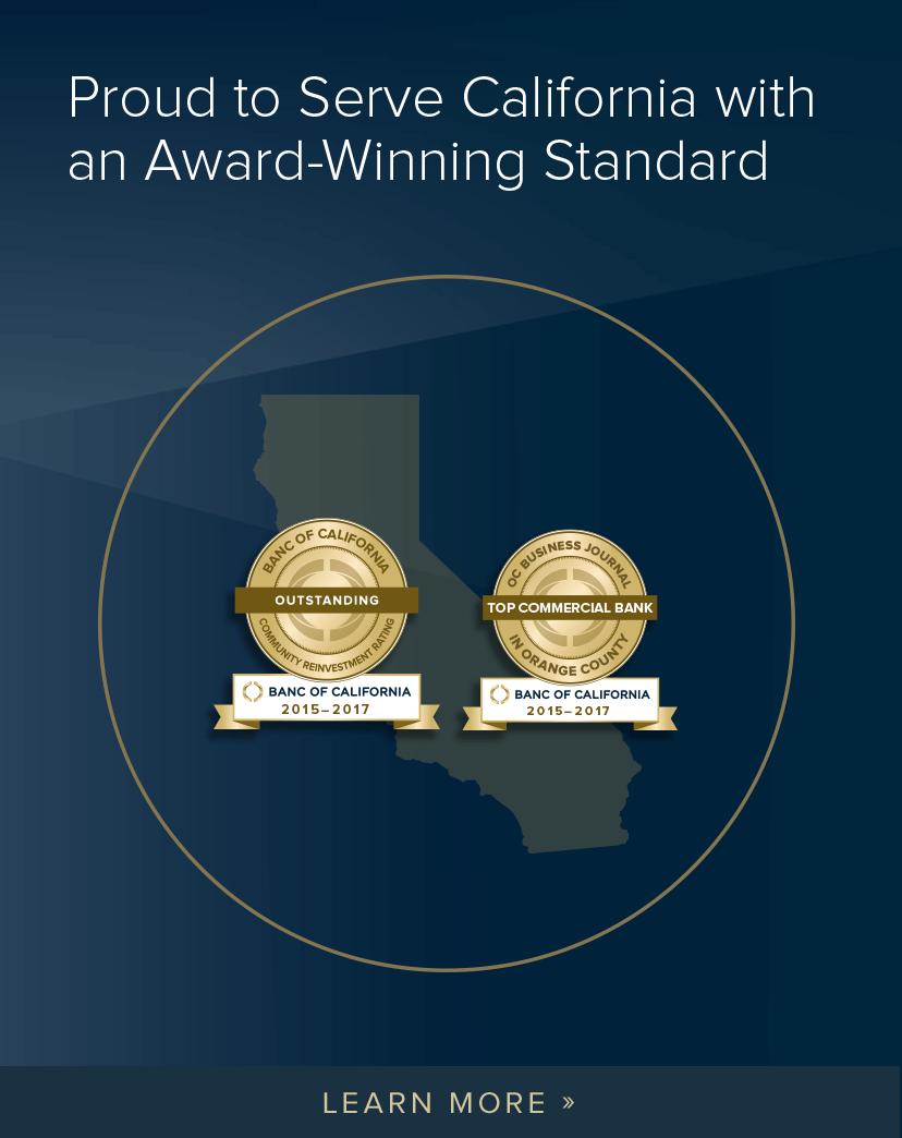 Banc of California Awards