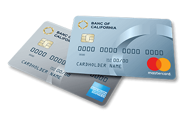 personal credit cards banc of california