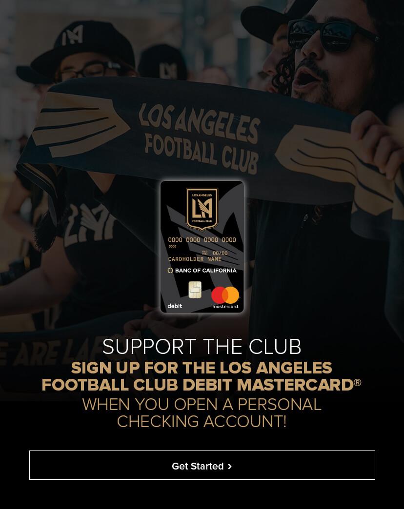LAFC Debit Card Banner