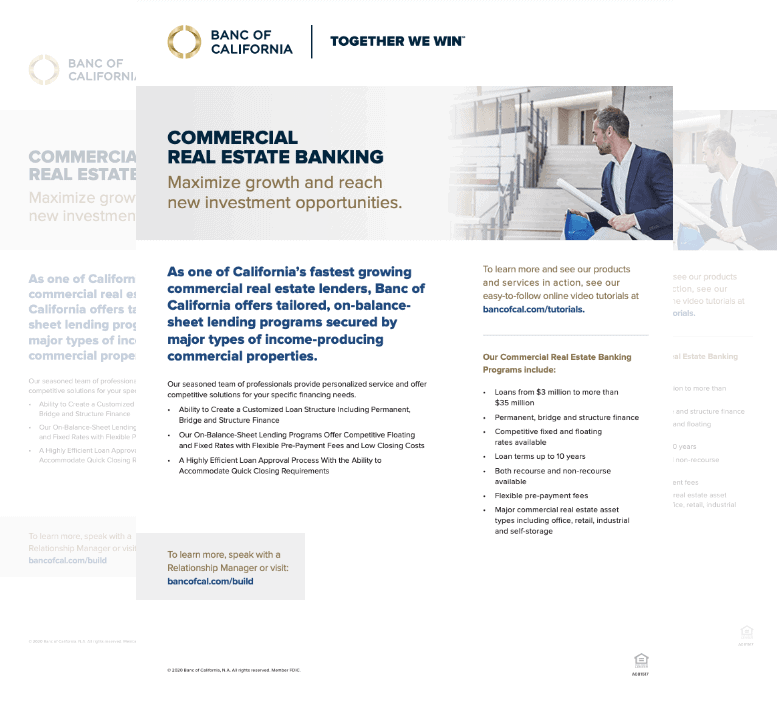 Maximize Commercial Real Estate Banking