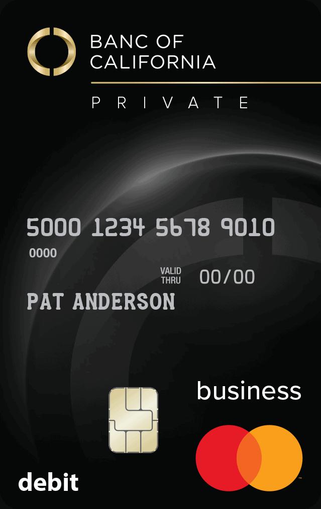 Private Business Debit Card