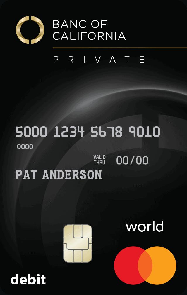 Private Debit Card