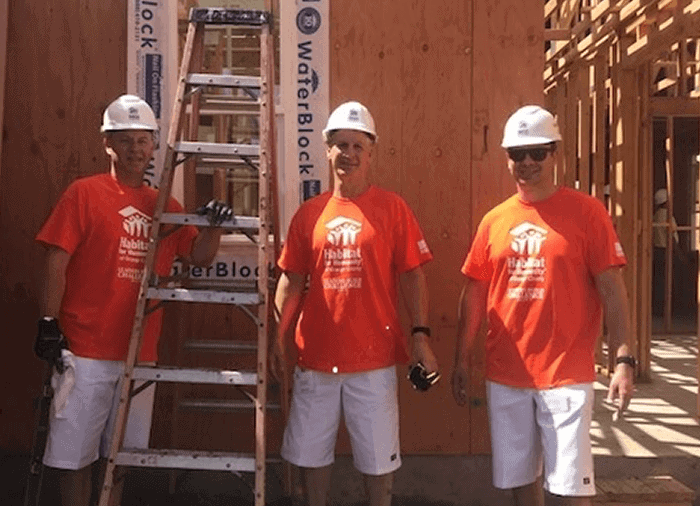 Habitat For Humanity Banc of California Volunteers