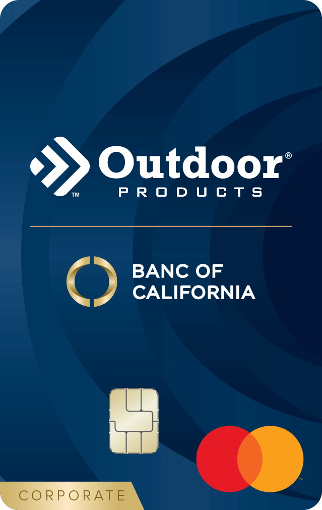 Outdoor Products Corporate Card
