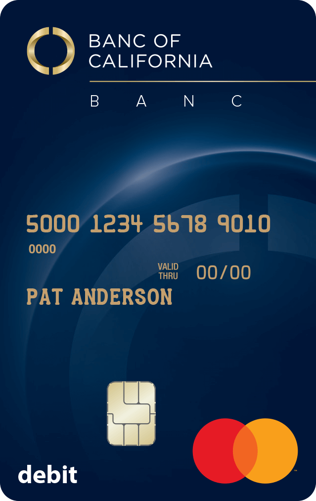 Banc of California Debit MasterCard