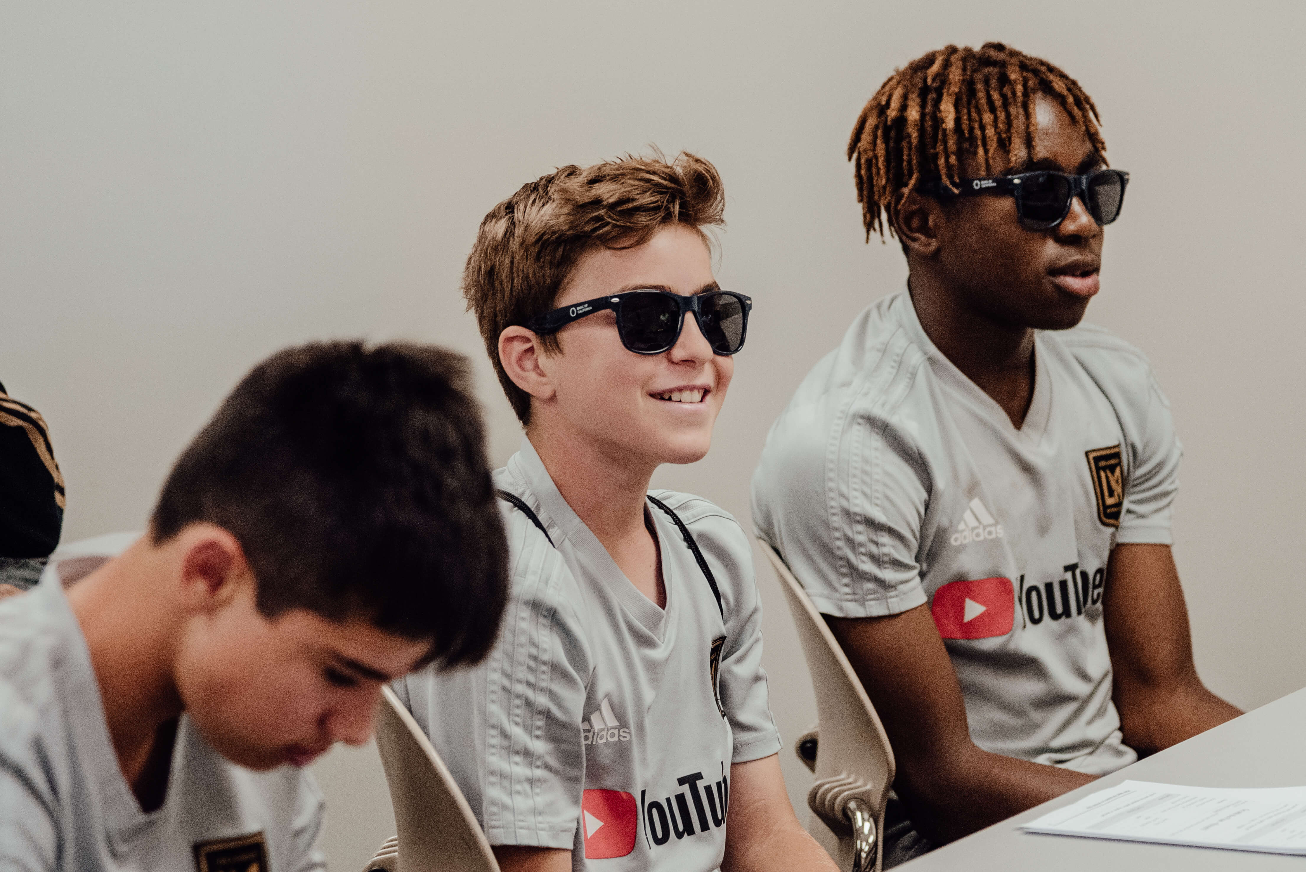 LAFC Academy class