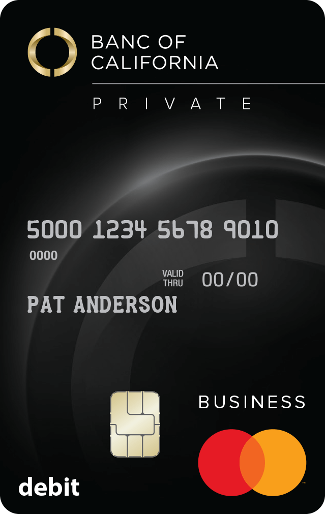 Private Business Debit Card