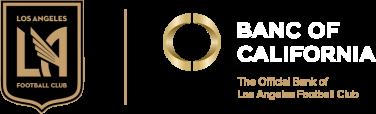 LAFC Banc of California logo lockup
