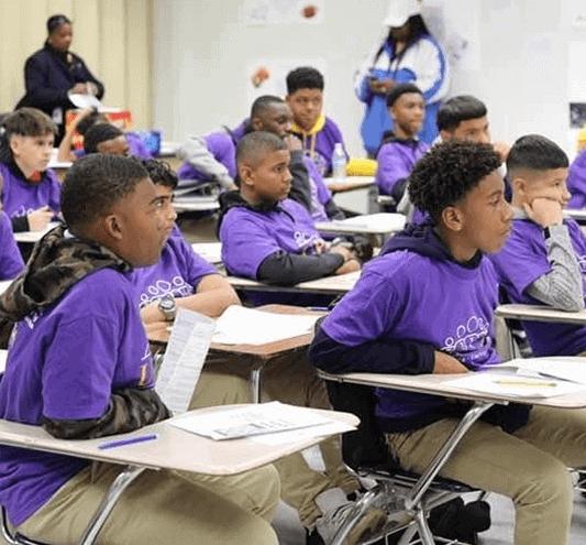 Bridge Builders Foundation Kids In Class
