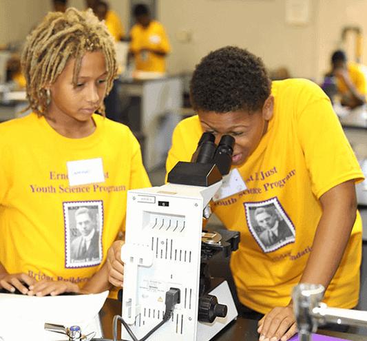 Bridge Builders Foundation Kids In Science Class