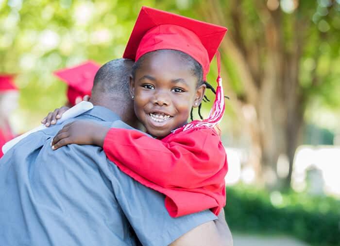 Crete - Little boy graduating