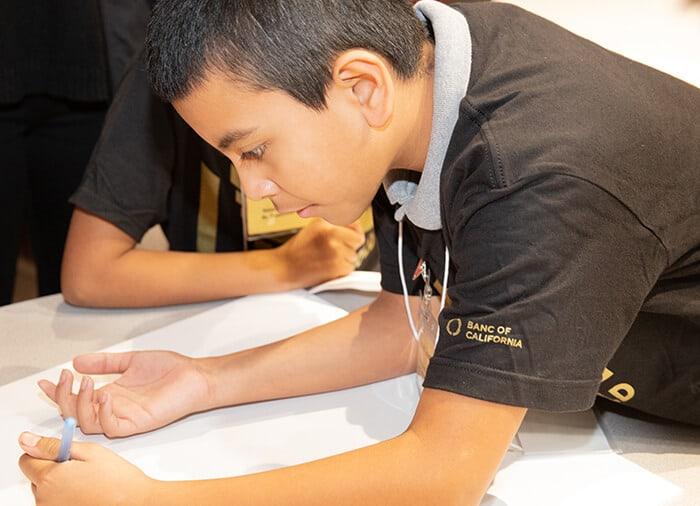 JA Child Learning & Drawing