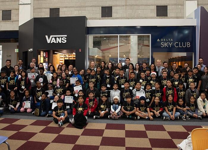 JA Large Group of kids