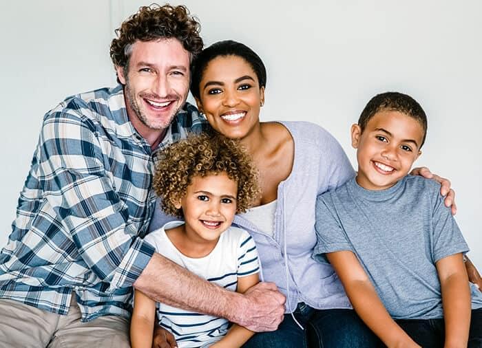 RaiseAChild - smiling family
