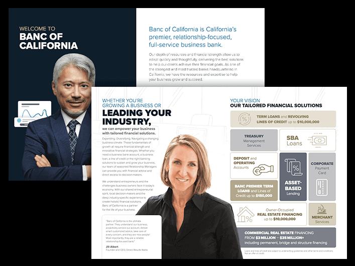 Banc of Cal Brochure